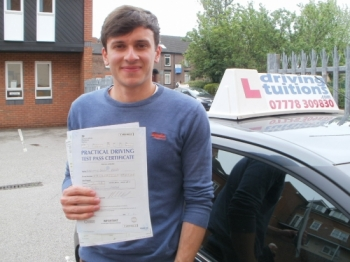 Franco is a great instructor I passed my test first time He was friendly and positive and very good at explaining what I needed to do He knew exactly how to improve my driving so that I was confident and ready for the test Franco was also flexible with times and very quick to respond by text Highly recommended