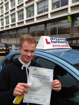 Franco is a very good polite instructor and makes you feel very confident at driving Definitely will recommend to anyone