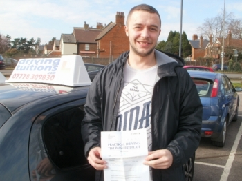 Great Instructor Franco was very specific in what I needed to pass my test first time<br />