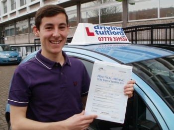 Brilliant instructor Teaches you not only how to pass your test but how to be a safe driver aswell
