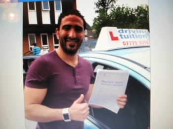 I recommend Franco as a greatest instructor after I've been with 3 others Honestly he's an excellent instructor that enjoys his job and gives you very clear information about every single driving lesson I passed my test today without a single minor driving fault and that's thanks to Franco for delivering me his knowledge to become a safe driver