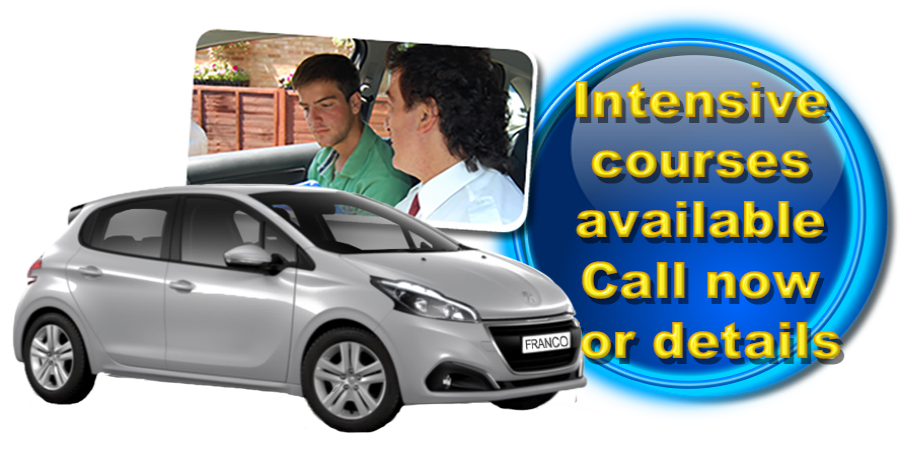 Driving lessons with Francos Driving School